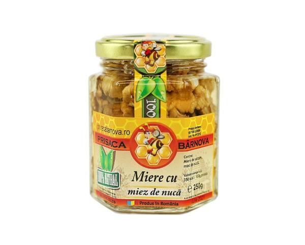 Miere cu nuca si miere de salcam 250g