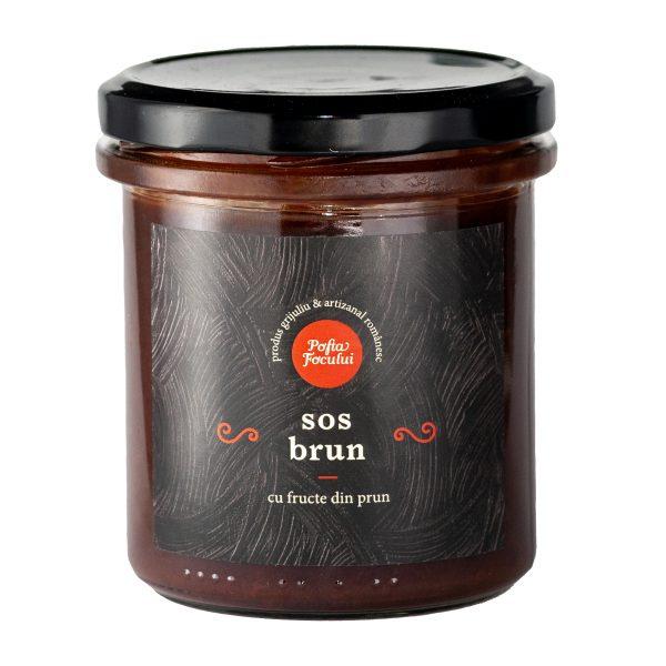 Sos brun din prune 300g